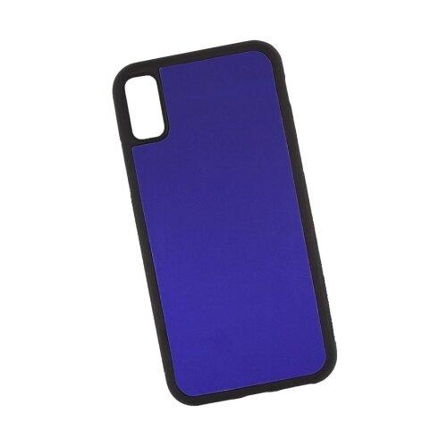 Чехол Liberty Project Термо-радуга для Apple iPhone X фиолетовый/розовый