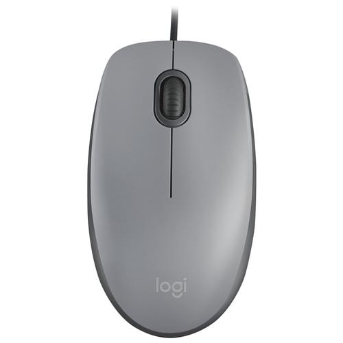 Мышь Logitech M110 Silent Mid Grey USBМыши<br>