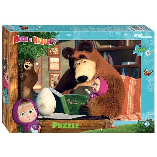 Купить Пазл Step puzzle Анимаккорд Маша и Медведь - 2 (94089), 160 дет., Пазлы