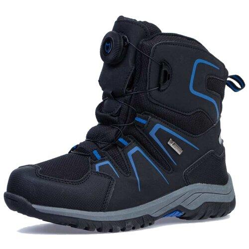 Ботинки КОТОФЕЙ размер 34, черный/синий