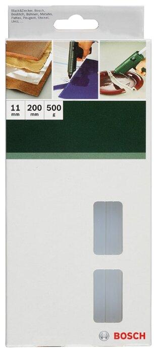 BOSCH Клеевые стержни 11х200 мм, 500 г