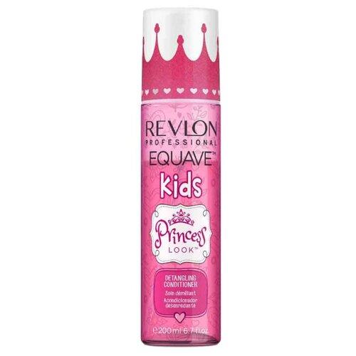 Revlon 2-х фазный кондиционер для детей Equave Kids Princess Look с блестками 200 мл