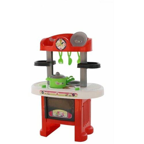 цена на Кухня Palau Toys BU-BU №5 42446/44891 красный/белый/серый
