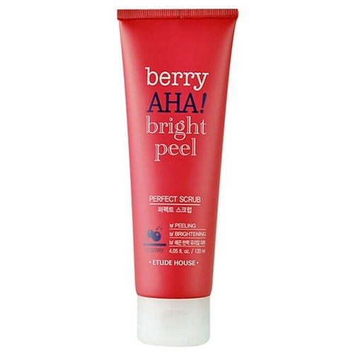 Etude House скраб для лица Berry Aha Bright Peel Perfect Scrub