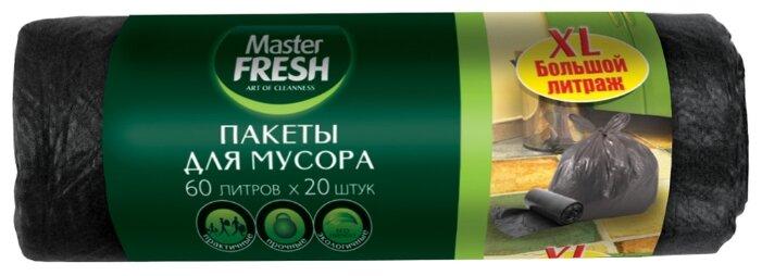 Мешки для мусора Master FRESH С0004294 60 л (20 шт.)