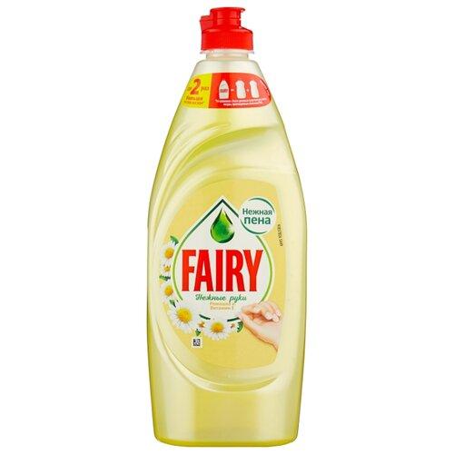 Fairy Средство для мытья посуды Ромашка и витамин Е 0.65 л