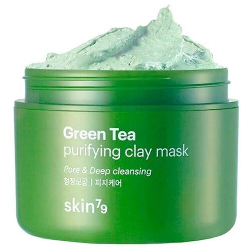 Купить Skin79 глиняная маска Green Tea Purifying Clay Mask с экстрактом зеленого чая, 100 мл