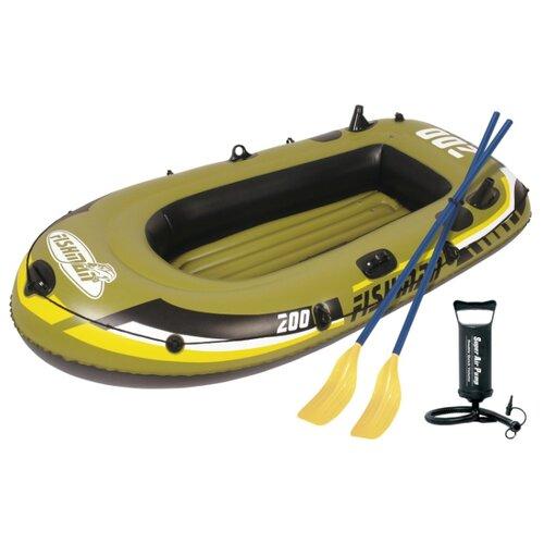 цена на Надувная лодка Jilong Fishman 200set JL007207-1N зелено-черный