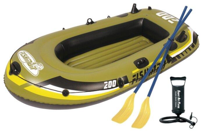 Надувная лодка Jilong Fishman 200set