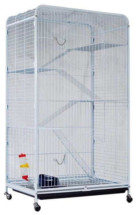 Клетка для грызунов, хорьков Triol C4-1 79х52.5х140 см