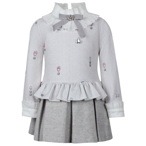 Платье Lapin House размер 74, кремовый