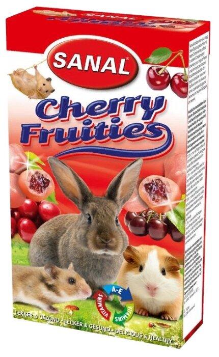 Лакомство для кроликов, грызунов SANAL Cherry Fruities