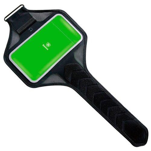 Купить Чехол универсальный Baseus Move Armband green/black