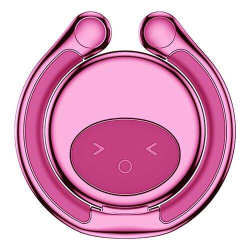 Подставка Baseus Elf Ring Bracket розовыйПодставки для мобильных устройств<br>