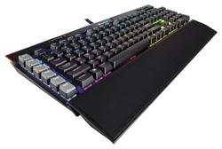 Игровая клавиатура Corsair K95 RGB PLATINUM Rapidfire (CHERRY MX RGB Speed) Black USB