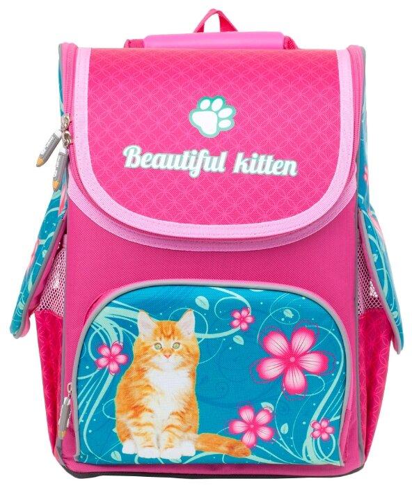 BG Рюкзак-ранец Compact Beautiful Kitten SBC 2758 розовый/голубой