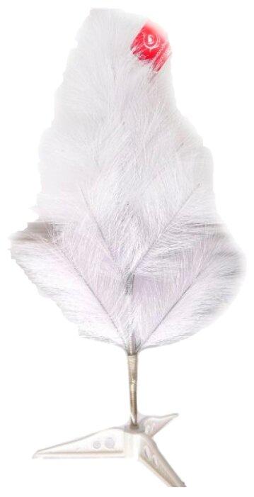 Новогодняя сказка Сосна искусственая, 60 см, цвет: белый [973459]