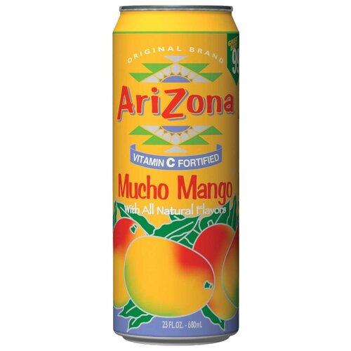 Напиток сокосодержащий AriZona Mucho Mango, 0.68 лСоки, нектары, морсы<br>