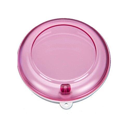 StaiNo Denture Box Circle – бокс для хранения ортодонтических конструкций, пурпурный