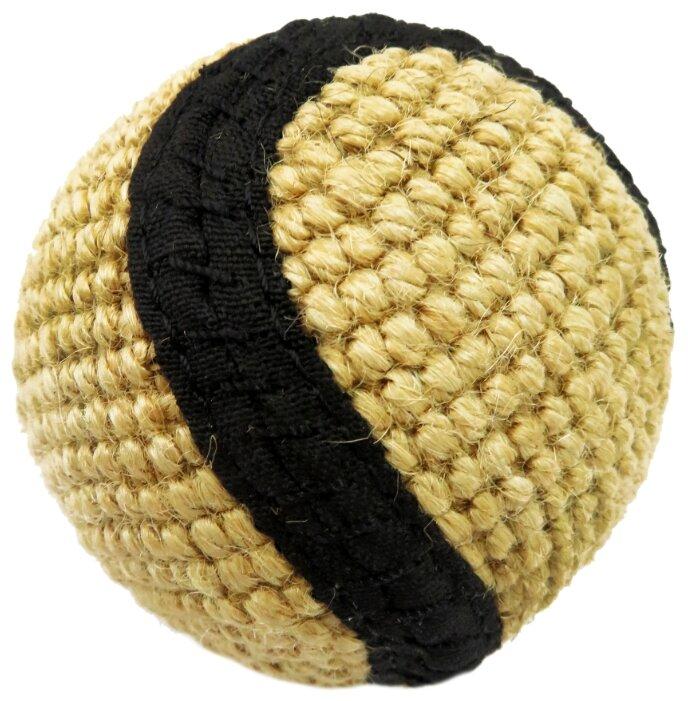 Мячик для собак Ankur плетеный джутовый 6 см