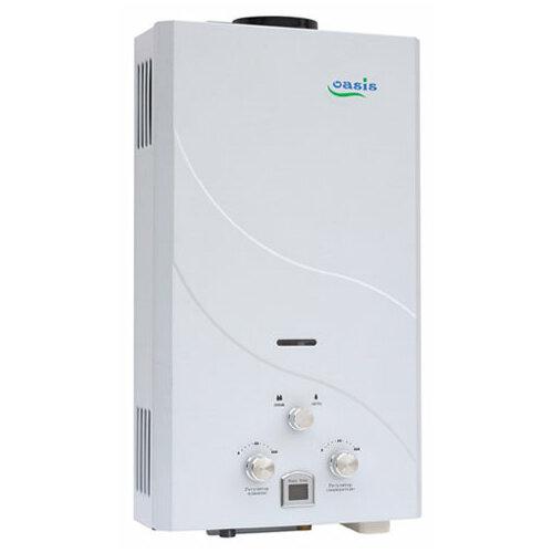 Проточный газовый водонагреватель Oasis 16 кВт белый