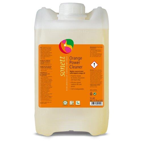 Orange Power Cleaner средство для удаления жирных загрязнений с маслом апельсиновой корки Sonett 5000 мл