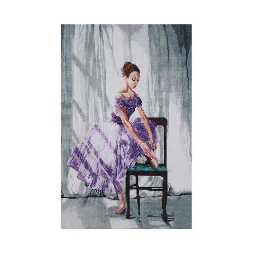 Купить Hobby & Pro Набор для вышивания Балерина 31 х 42 см (801), Наборы для вышивания