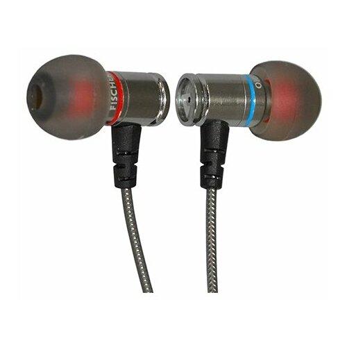 Фото - Наушники Fischer Audio Bullets 6мм, silver наушники fischer audio tandem black