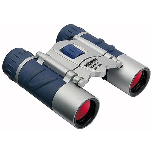 Фото - Бинокль KONUS Explo 10x25 CF синий/серый бинокль konus basic 10x25 черный серый