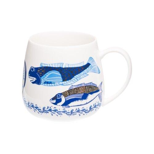 Великоросс Кружка Русская рыбалка 570 мл белый/синие рыбы великоросс кружка русская рыбалка 570 мл белый синие рыбы