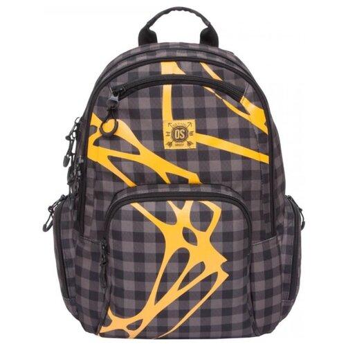 Рюкзак Grizzly RU-800-1/2 17 (клетка коричневая) рюкзак городской grizzly цвет серый 25 л ru 614 1 4