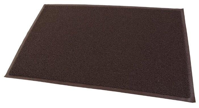 Придверный коврик RemiLing с щетинистым покрытием, размер: 0.9х0.6 м, коричневый