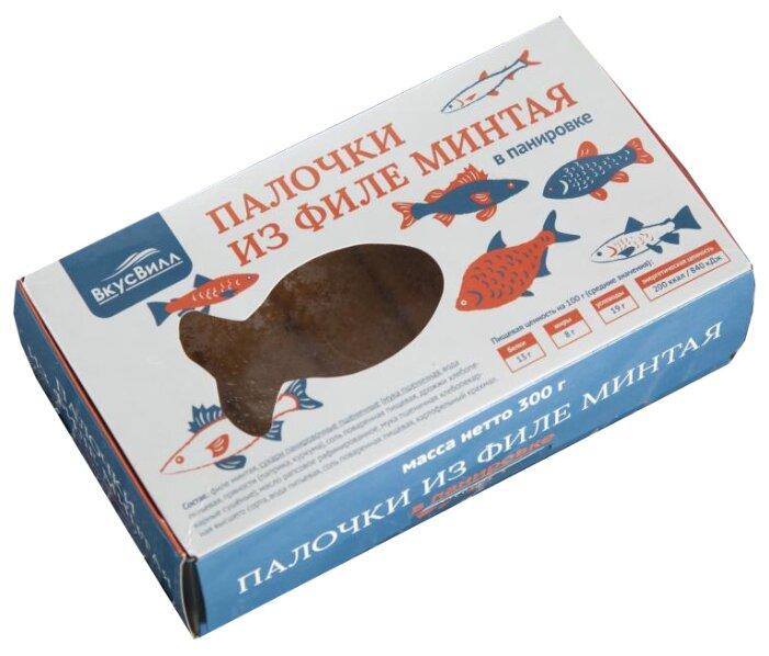 ВкусВилл Палочки из минтая коробка 300 г