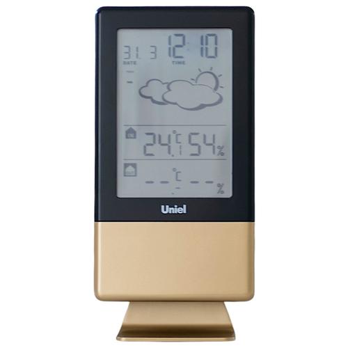 Метеостанция Uniel UTV-81, черный/оливковый недорого