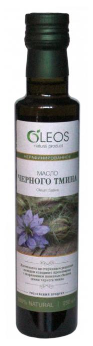 Олеос масло пищевое Черного Тмина (Питание) 110мл