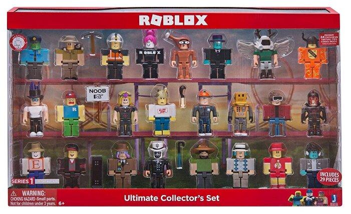 Jazwares Roblox Набор Коллекционера 24 фигурки Роблокс серия 1(Ultimate Collector's Set)