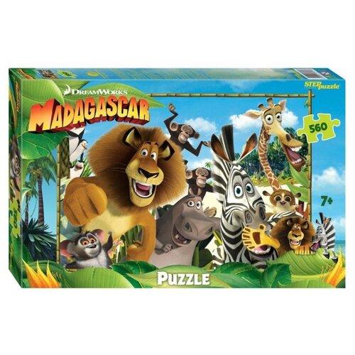 Купить Пазл Step puzzle DreamWorks Мадагаскар - 3 (97074), 560 дет., Пазлы