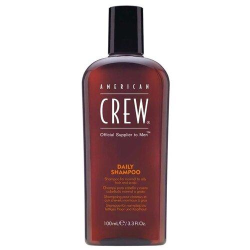Фото - American Crew шампунь Daily для ежедневного ухода за нормальными и жирными волосами 100 мл american crew шампунь для ежедневного ухода за волосами 450 мл american crew для тела и волос