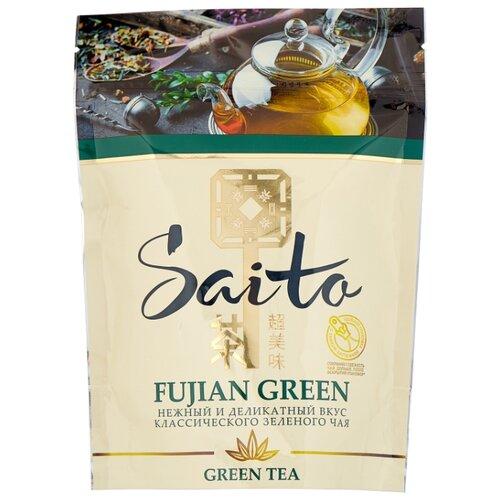 Чай зеленый Saito Fujian green, 80 г доброе утро жасмин зеленый чай 80 г