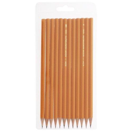 Купить KOH-I-NOOR Набор чернографитных карандашей 1696 12 шт (1696012043TE), Карандаши