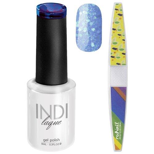 Набор для маникюра Runail пилка для ногтей и гель-лак INDI laque 3576Гель-лак<br>