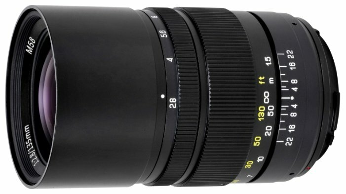 Объектив Oshiro 135mm f/2.8 LD UNC AL Nikon F