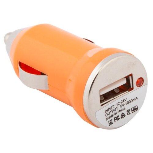 Автомобильная зарядка Liberty Project SM000130 оранжевыйЗарядные устройства и адаптеры<br>