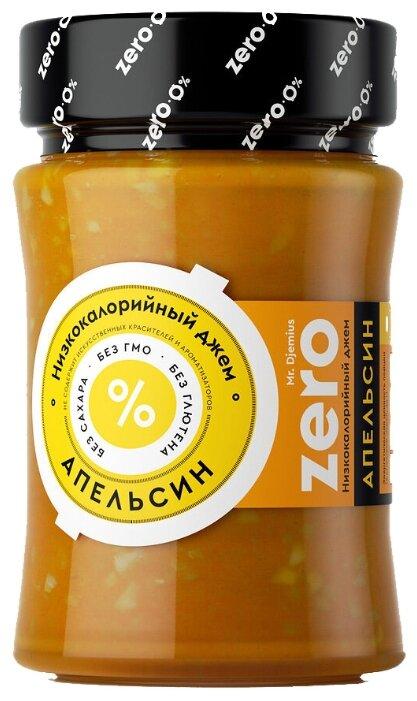 Джем низкокалорийный Mr. Djemius ZERO Апельсин без сахара, банка 270 г