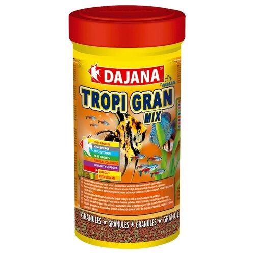 Сухой корм Dajana Pet Tropi Gran Mix для рыб 100 мл 55 гКорма для рыб и рептилий<br>