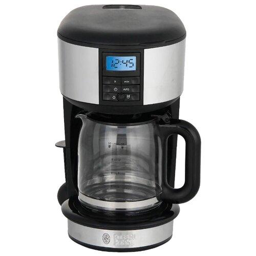 Кофеварка Russell Hobbs 20680-56 черный/серебристый кофеварка russell hobbs 20680 56