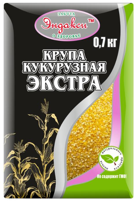 Эндакси Крупа кукурузная Экстра 700 г