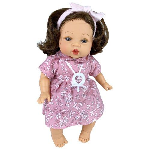 Кукла Munecas Manolo Dolls Carla, 33 см, 4103 кукла младенец manolo dolls мягконабивной canguros 30см 4500