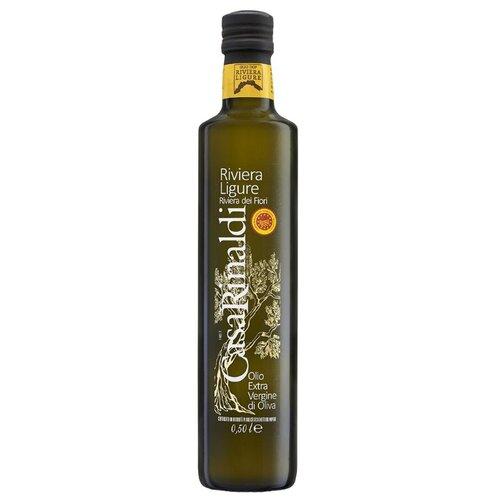 Casa Rinaldi Масло оливковое Extra Virgin Ligurian Riviera dei fiori DOP 0.5 л casa rinaldi масло оливковое pomace sansa стеклянная бутылка 0 5 л