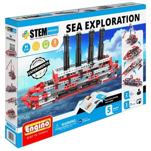 Купить Конструктор ENGINO STEM Heroes STH71 Набор из 5 моделей.Морские исследования, Конструкторы